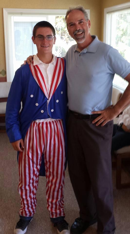 Uncle Sam Getting his Adjustment